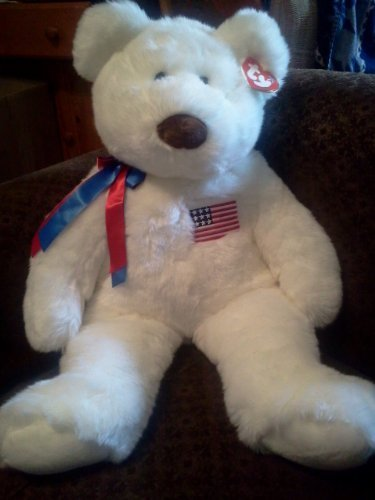 46504df47cf Image Unavailable. Image not available for. Color  Ty Extra Large Libearty  Beanie Buddy 30 quot  Jumbo Plush