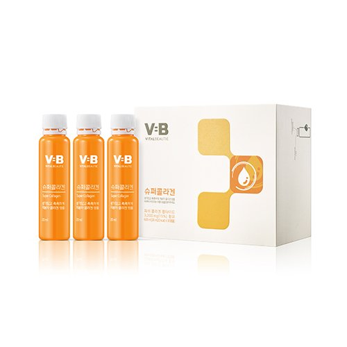 Vb Program Super Collagen 20ml X 30 Ampoules Moist Bright Skin Drink New Version AMOREPACIFIC