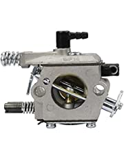 Chainsaw Carburetor Carb Replacement Parts Compatible with 4500 5200 5800 45cc 52cc 58cc Chainsaw