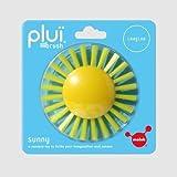 rain ball - MOLUK Plui Brush Sunny Bath & Tactile Toy, Yellow