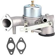 Carburador para cortador de grama, 17 x 5 cm, acessório para ferramentas de jardim de carburador para Briggs S