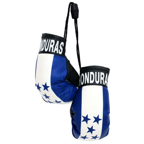 flagsandsouvenirs Boxing Gloves HONDURAS