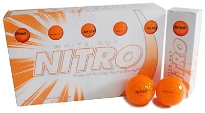 Nitro White Out Ball (15-Pack), Orange
