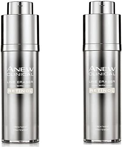 Avon Anew Clinical Line Eraser With Retinol Treatment lot of 2