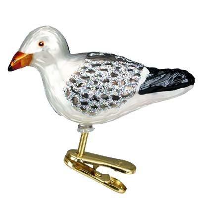 Fish Old World Christmas Ornament (Old World Christmas Sea Gull Glass Blown Ornament)