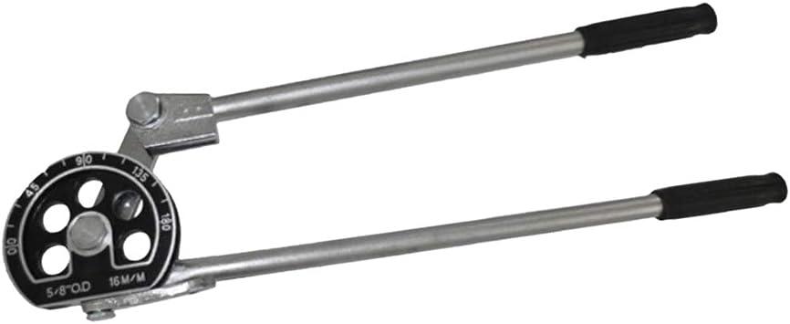 0/° 180/° kesoto Manueller Rohrbieger Manual Pipe Tube Bender f/ür 16mm Metallrohr