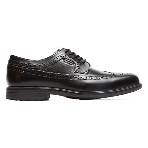 Shoe Essential Men's Details Wingtip Waterproof Leather Oxford Black Rockport nYwAqF5w