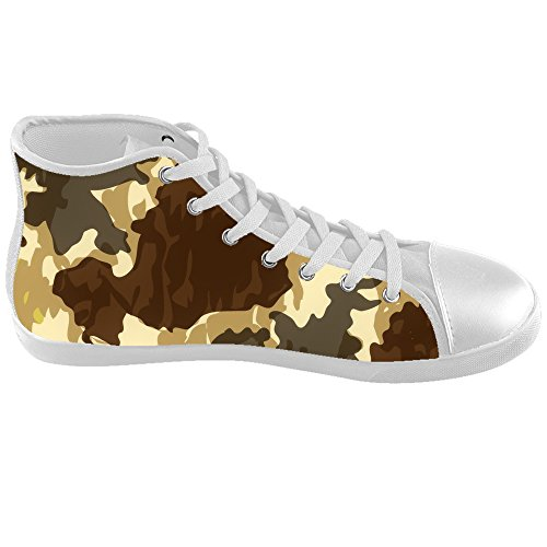 Custom Camouflage Kids Canvas shoes Schuhe Footwear Sneakers shoes Schuhe E