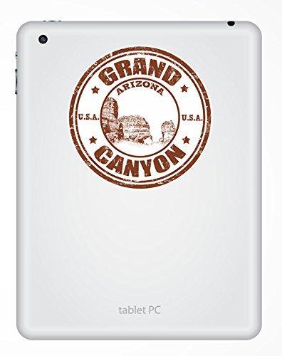 2 x 10cm//100mm Grand Canyon Arizona USA adesivo in vinile adesivo da viaggio per portatile auto bagagli iPad segno divertimento #4826