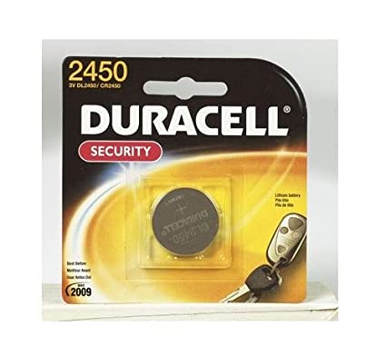 Amazon.com: Duracell Batería de litio 3 V 2450 Specialty ...