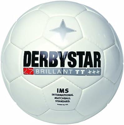 Derbystar Brillant TT - Balón de fútbol, Color Blanco Blanco Weiss ...