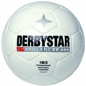 Derbystar Fussball Brillant TT, Weiss, 5, 1181500100