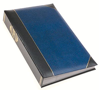 Pioneer Ledger Bi-Directional Le Memo Album, Navy Blue