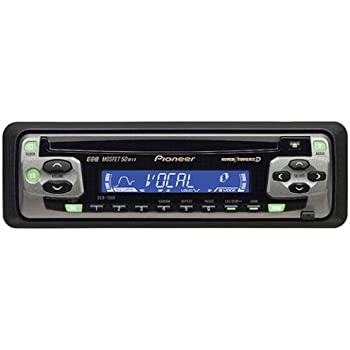 pioneer car cd player deh 1500 mosfet 50wx4. Black Bedroom Furniture Sets. Home Design Ideas