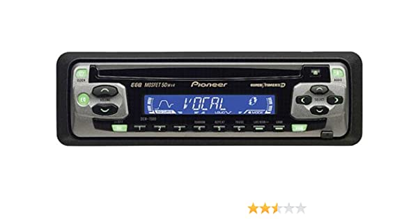 Pioneer Car CD Player DEH 1500 MOSFET 50Wx4