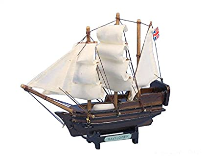 Mayflower 7 Wooden Model Tall Ship Tall Ship Model Nautical Gift Wooden Tall Ship Model Vintage Model Ship Historic Model Ship