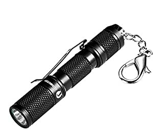LUMINTOP Tool AAA 110 Lumen Keychain EDC LED Mini Flashlight with Cree XP-G2, Reversible Clip for the Click Switch Plus Magnet Tail