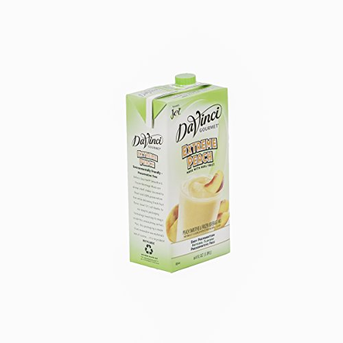 DaVinci Gourmet Extreme Peach Smoothie Mix 64 oz, Pack of 6 by DaVinci Gourmet