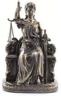 Figura Clasica Diosa de la Justicia 17 cm