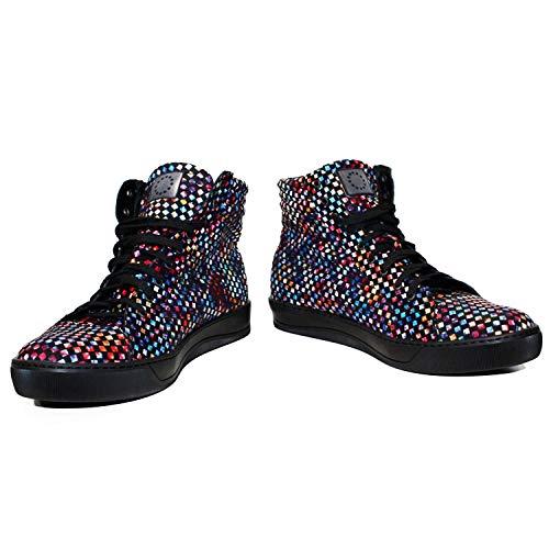 Hommes Souple Italiennes Coloré Lacer Cuir pour Handmade Cuir Modello Cundy de Sneakers Vachette des Cuir Décontractées Chaussures AYHqRwZ