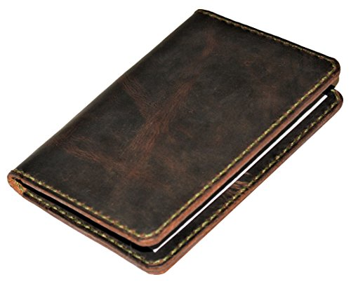 JP Leathercraft Handmade Leather Passport Case Cover Card...