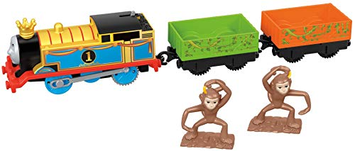 Thomas & Friends Fisher-Price Trackmaster, Monkey Mania Thomas Toy, ()