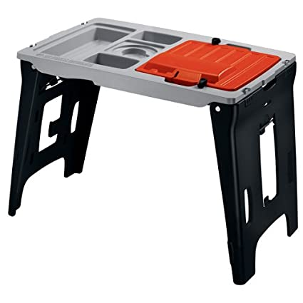 black decker wps100 workmate portable paint station workbenches