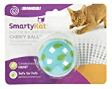 SmartyKat Chirpy Ball Electronic Sound Cat Toy