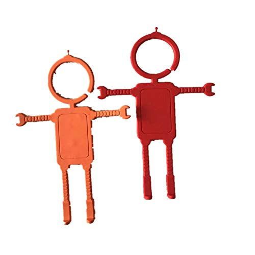 Desktop Stand Orange+Red Battery Charging Phone GPS Navigation 2 Pack- Silicone Car Mirror Mount for Mobile Phones LBH Plus Flexible Cell Phone Holder Hands Free Phone Hanger