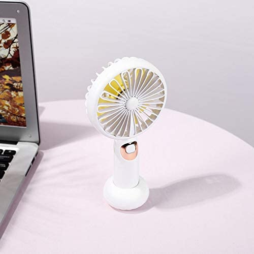 Wireless Music Speaker Portable Handheld Electric Fan Air Conditioner Cooler Cooling Fan Summer Desk Table