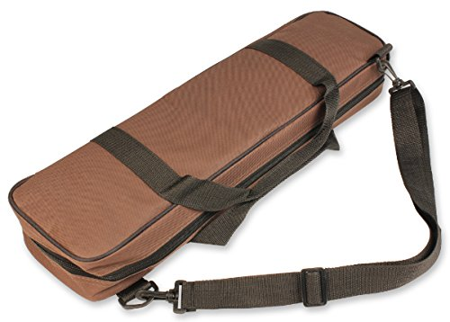 The Chess Store Large Carry-All Tournament Chess Bag - Brown