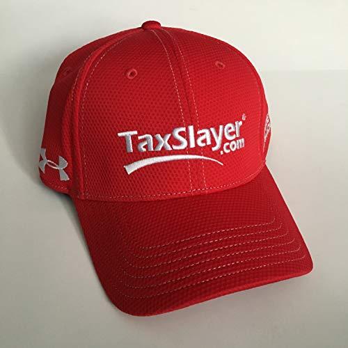 NEW Tax Slayer Justin Allgaier Dale EARNHARDT JR UNDER ARMOUR NASCAR PIT CREW Hat Cap