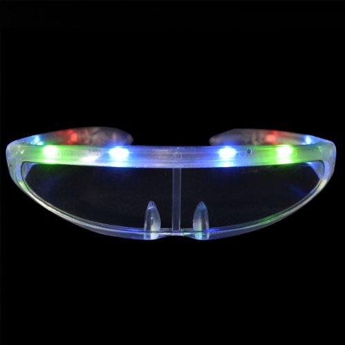 Futuristic LED Sunglasses - Sunglasses Lighted Led