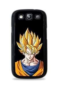Super Saiyan Goku Samsung Galaxy S4 Silicone Case - Black -120 by lolosakes