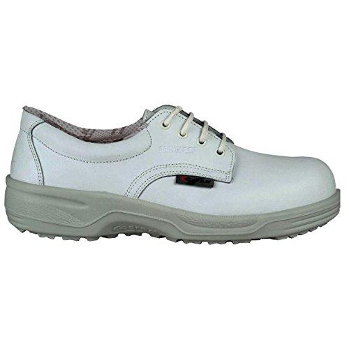 """Cofra 34443–005.w44Tamaño 44""""Enea S2SRC–zapatos de seguridad color blanco"""