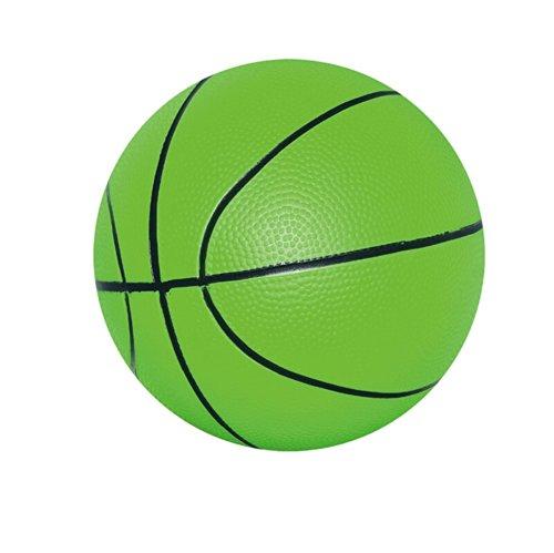 [GREEN Basketball] INNOVATIVE Kid PVC Ball Children Beach Summer Party Ball, 8'' by Panda Superstore