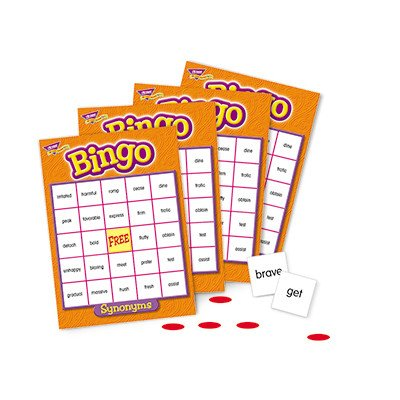Trend Micro Synonyms Bingo Game, 3-36 Players, 36 Cards/Mats