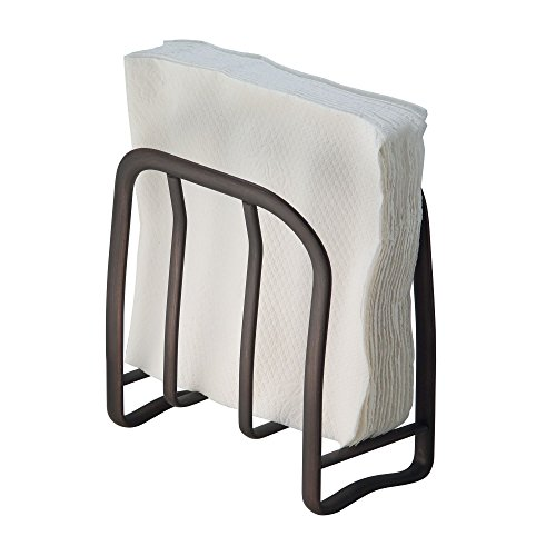 UPC 841247193588, mDesign Napkin Holder for Kitchen Countertops, Tabletops - Bronze