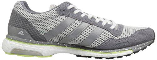 Shoe One Adizero Running Grey Silver adidas Three Metallic W Adios Women's Grey ABOxw4qX