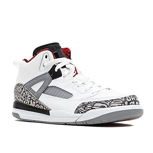 best website 4d50a ebd43 hot sale 2017 Nike Air Jordan Spizike BP Little Kid s Shoes White Cement  Grey