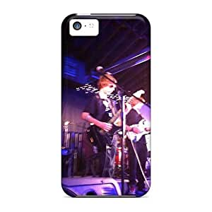 Shock Absorbent Hard Phone Case For Iphone 5c With Customized Beautiful Red Hot Chili Peppers Image TimeaJoyce