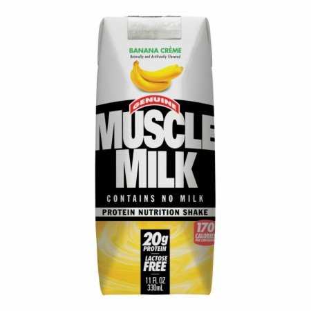 CytoSport Muscle Milk RTD - 24 - 11 Fl. Oz. Cartons - Banana Creme