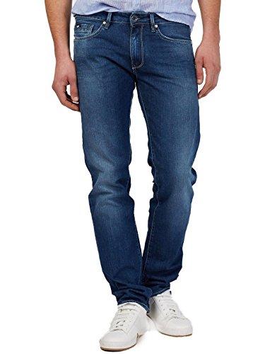 Morris Uomo Slim Blu Jeans Gas Wk79 qA7T54w
