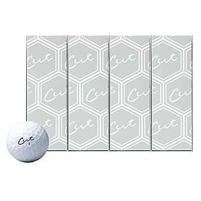 Cut Grey Golf Balls - 3 Dozen Discount Bulk Buys