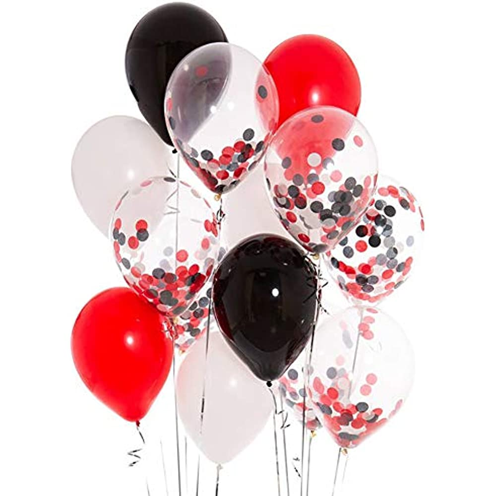 Black Gold And Red Birthday Party Decorations  from images-na.ssl-images-amazon.com