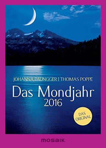 Das Mondjahr 2016: s/w-Taschenkalender