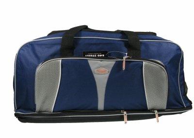 Bag Street , Borsone  blu blau 77cm, 32cm, 32cm,