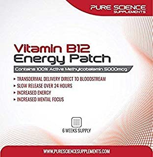 Vitamin B12 Patch - Best Value 16 Patches - up to 4 Month Supply