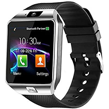 Amazon.com: Qiufeng DZ09 Smart Watch Smartwatch Bluetooth ...