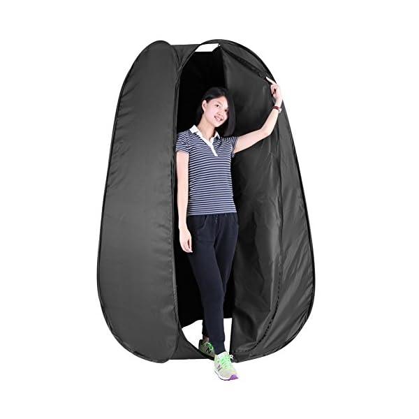 41K0J4iKdaL Neewer 6 Fuß / 183cm Tragbare Innen Außen Foto Studio Pop- Up Wechsel Umkleide Zelt Zimmer mit Tragetasche
